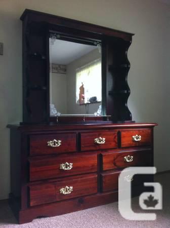 Four Piece Bedroom Suite - $475