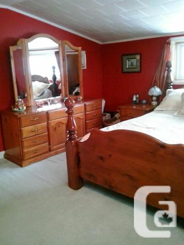 four pieces bedroom set