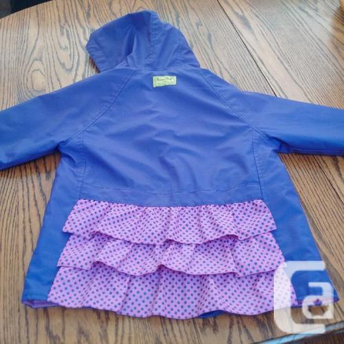 Fred's Purple Rain Coat (size 6)