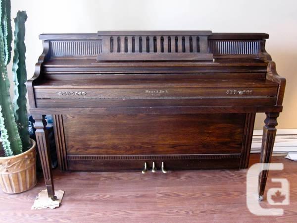 Free Mason and Risch Piano