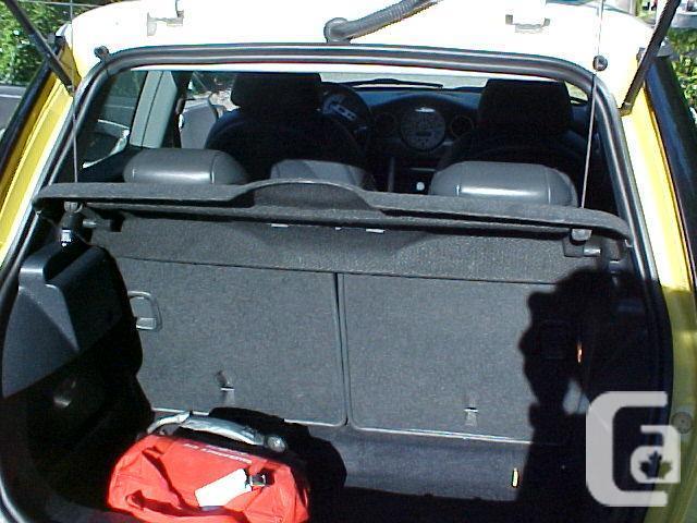 Freedom 55 model Mini Cooper S - 2003