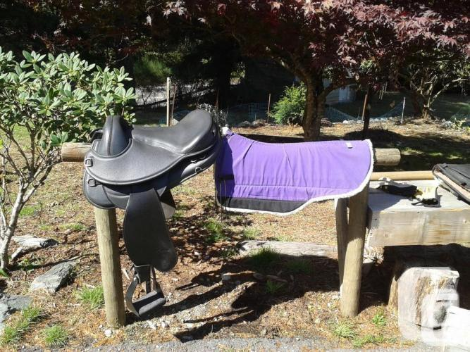 Freeform Cascade Treeless Saddle with Skito Pad