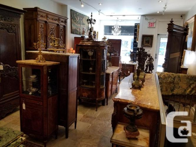 FRENCH ANTIQUES-STORE CLOSING, TORONTO
