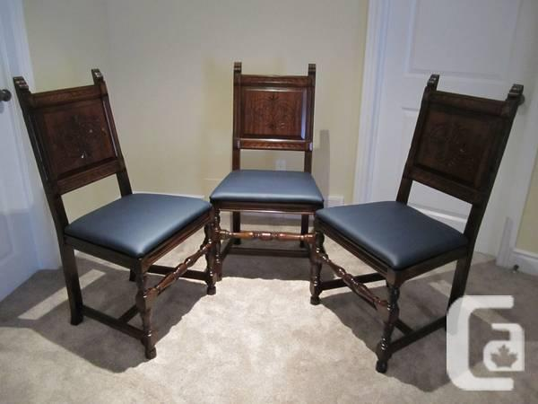 French style 6 dining chairs set - $400