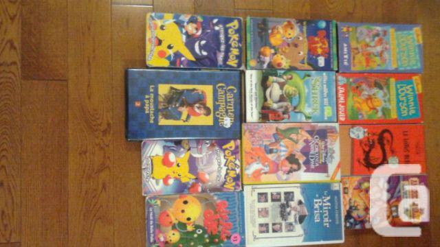 French vhs movies for children/family