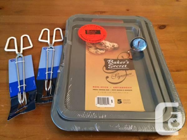 Fresh Home Cookware- tongs etc, pans mill - $30