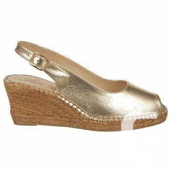 FRESH ladies's shoes (SIZE 7 & 7.5) - Azura Platinum