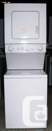 Frigidaire Compact Stacking Washer Dryer, 12 month