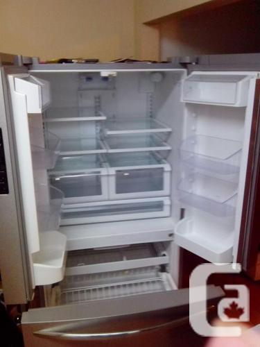 Frigidaire Gallery French Door Refrigerator For Sale In