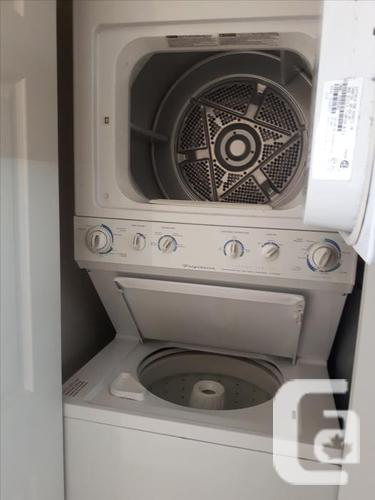 Frigidaire Stacked Apartment Washer/Dryer in Victoria, British Columbia for  sale