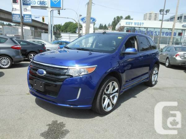 fs 2013 ford truck edge sport awd brand new for sale in new westminster british. Black Bedroom Furniture Sets. Home Design Ideas