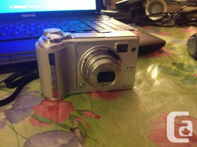 Fuji FinePix E500 digital Camera can be used as webcam