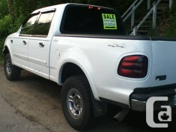 Fully Loaded 2003 Ford F 150 Xlt Lariat Supercrew For