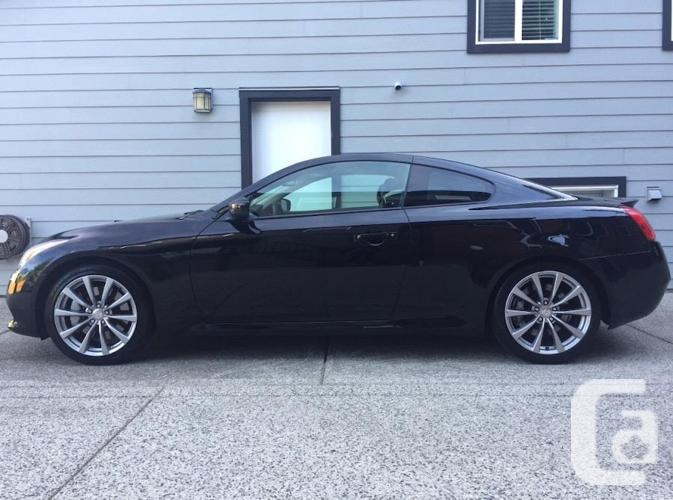 Fully Loaded 2009 Infinti g37S (Black - Coupe)