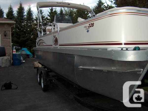 G3 pontoon boat for sale - $17000