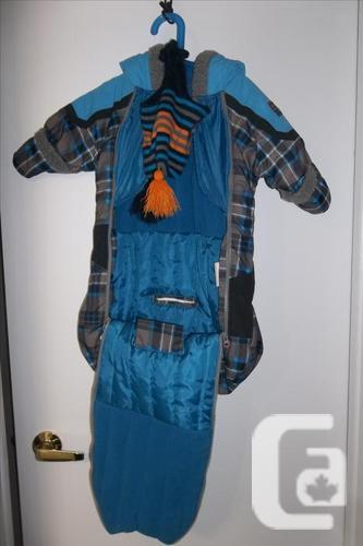 Gagou Tagou snowsuit/sack for boy 0 to 12 m in mint