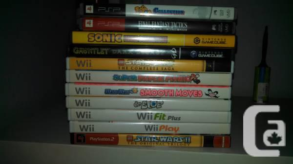 FS: game titles! PS2, pSP, Wii Saturn