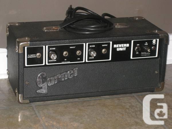 Garnet Reverb Unit...vintage tube reverb tank - $450