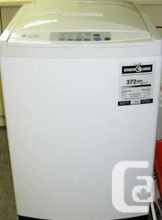 GE Apartment Size Portable Washer, 12 month warranty -