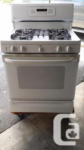 GE XL-44 SPECTRA PROPANE GAS STOVE
