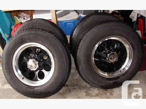 General Truck Tires on iON Alloy Rims - 8-170mm ($1000
