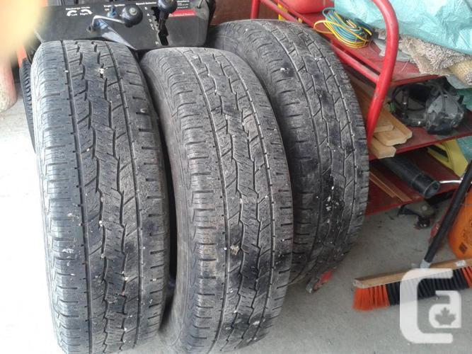 Genral Grabber HTS Tires