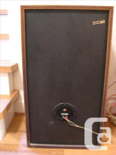GENUINE ACOUSTIC MONITOR  db IV LIQUID COOLED SPEAKERS