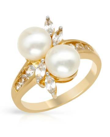 Genuine Freshwater Pearls & Sapphires Beautifully
