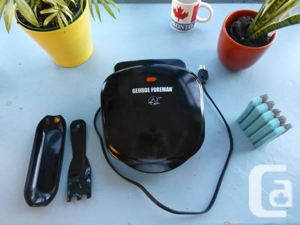 George Foreman 2-Serving Classic Grill, excellent