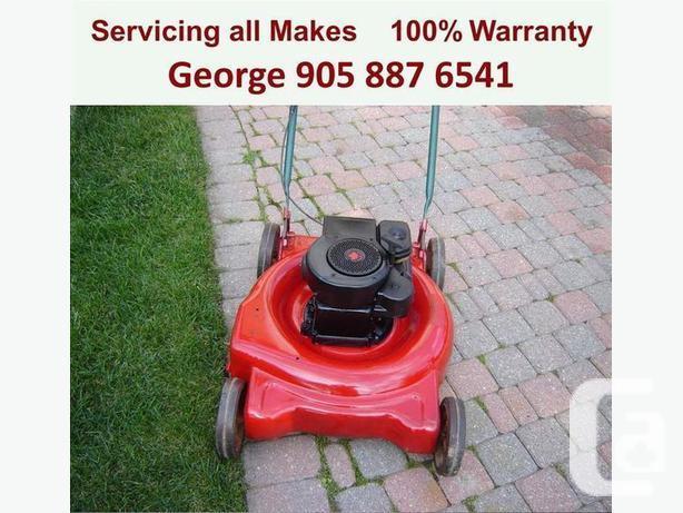 George's On-Site Lawnmower Repair 905-887-6541