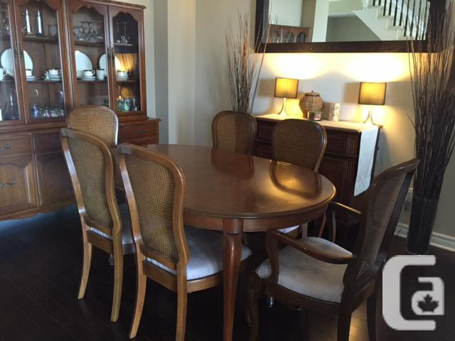Gibbard Dining Room Table Buffet And Hutch