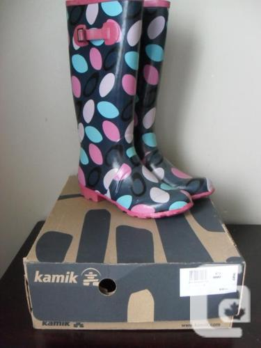 Girls Rubber Boots - Size 8