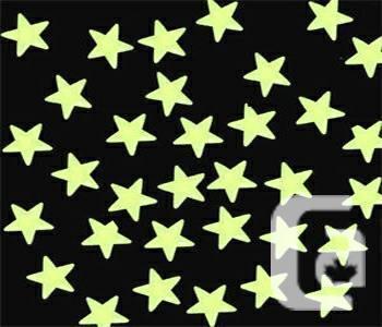 Glow In The Dark Stars Ceiling 100pack - $10