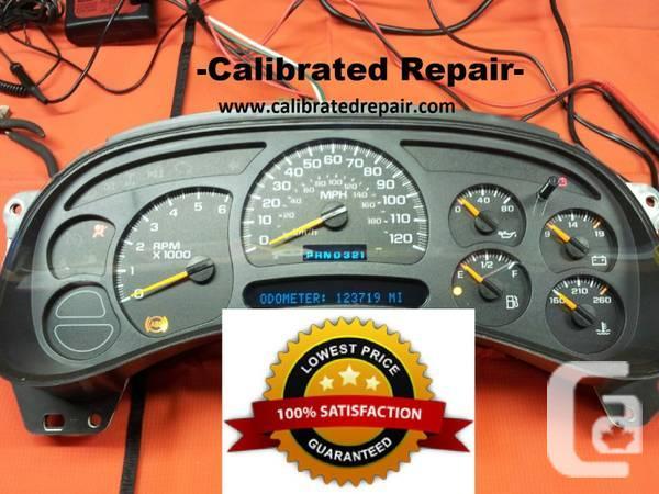GM Instrument Cluster Speedometer Repair - $99 in Winnipeg, Manitoba for  sale