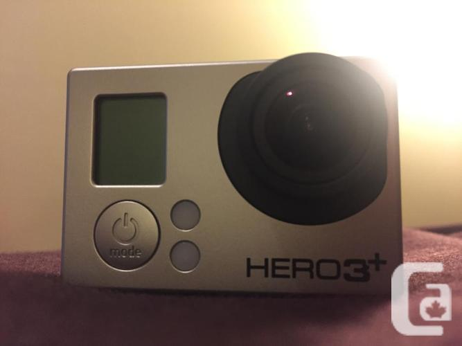 GoPro Hero 3+ Black Edition!