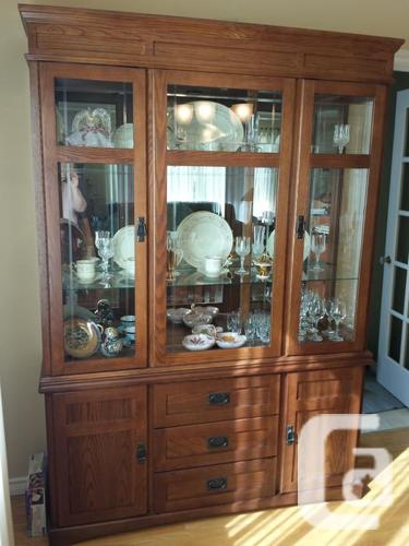 Gorgeous Mission Style Dining Room Suite For Sale In