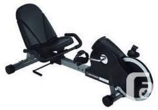 Great home gym bike recumbent sitting like new