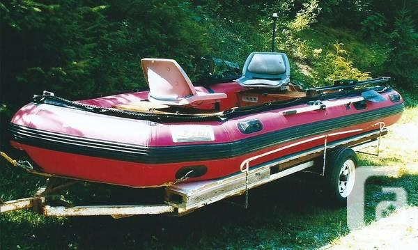 Great Hunting/Fishing 14 Foot Inflatible Boat - $2500