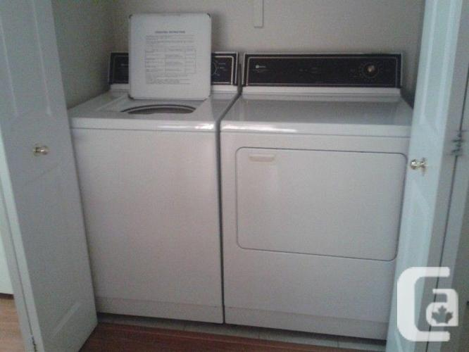 GROUP OF DRYER AND WASHER CLEAN!