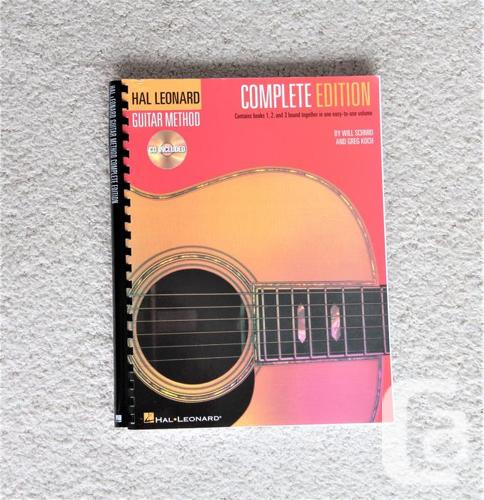 Hal Leonard Guitar method complete edition with CDs