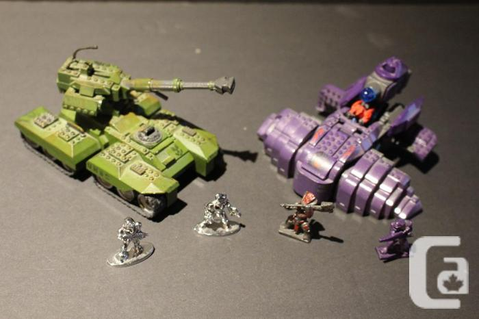 Halo Mini Figures and Vehicles