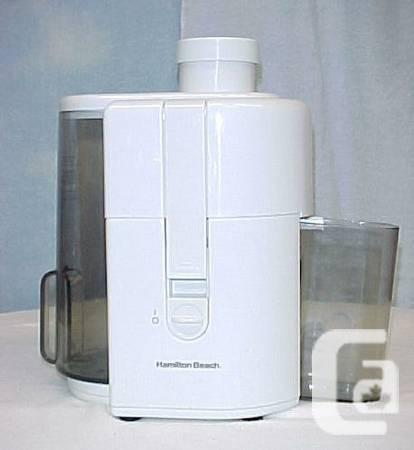 hamilton beach proctor silex 67150 juice extractor exc condition rh nanaimo canadianlisted com The Mouth Juicer Big Mouth Juicer