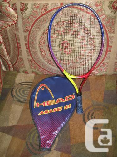 Head Agassi 21 Junior Tennis Racquet 21.5 inch long