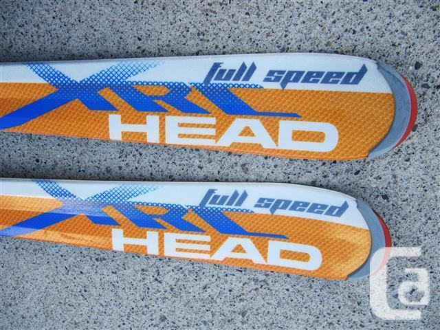 Head XRC (127cm) skis