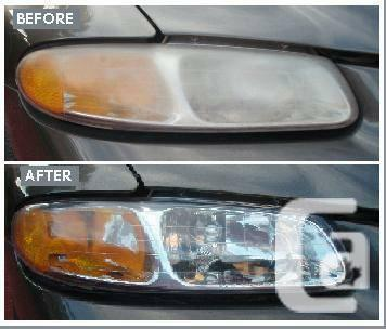 HEADLIGHT POLISHING AND SCRATCH REPAIR- MAKE YOUR
