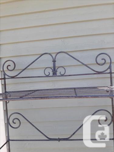 Heavy metal indoor/outdoor rack