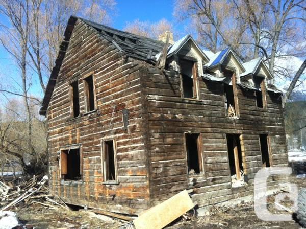 Heritage Log Home - $40000
