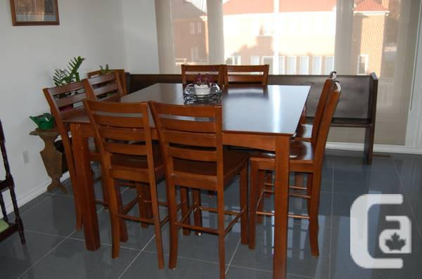 high dining table 8 chairs 499 in richmond hill ontario for sale