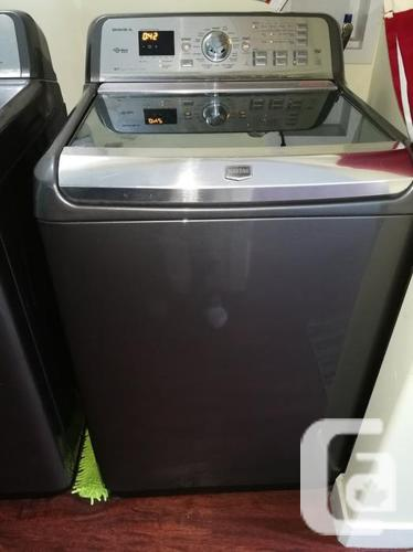 High end Maytag Bravos XL top load washer with