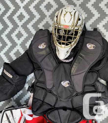 Hockey Goalie Equipment Full Set For Sale In Victoria British